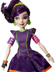 Disney Descendants Neon Lights Feature Mal of Isle of the Lost Dolls Disney