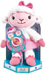 Disney Doc Mcstuffins Hearts-A-Glow Lambie Soft Toy - TOYBOX Cyprus