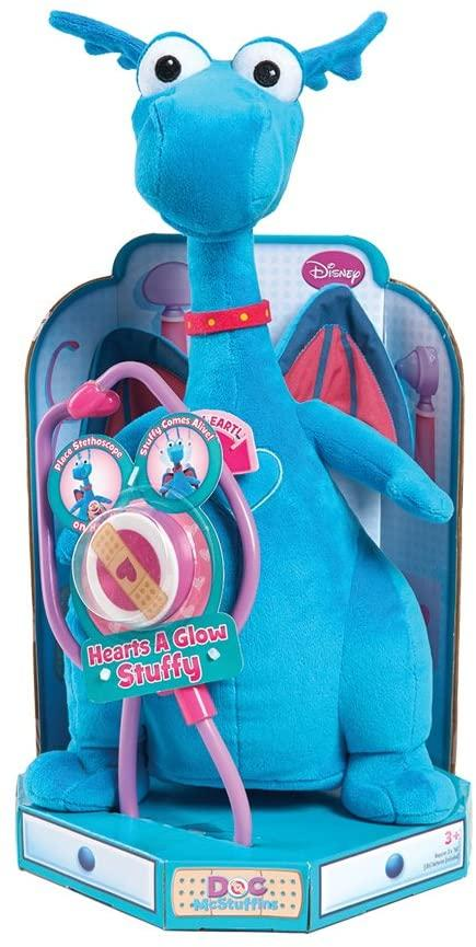 Disney Junior Doc McStuffins Hearts-A-Glow Stuffy - TOYBOX Toy Shop