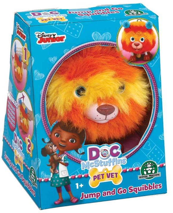 Doc McStuffins Pet Vet Jump and Go Squibbles - TOYBOX Toy Shop