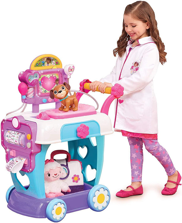 Doc McStuffins Toy Hospital Care Cart - TOYBOX Toy Shop