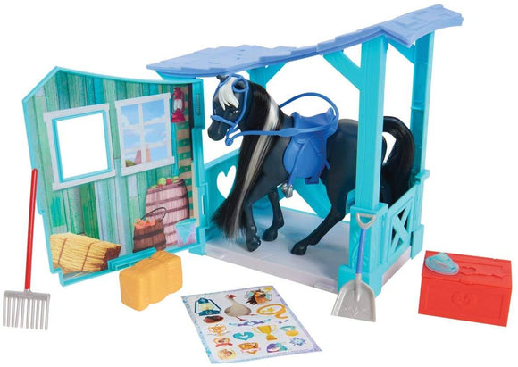 Dreamworks 39351 Spirit Horse and Stable Set - TOYBOX Toy Shop