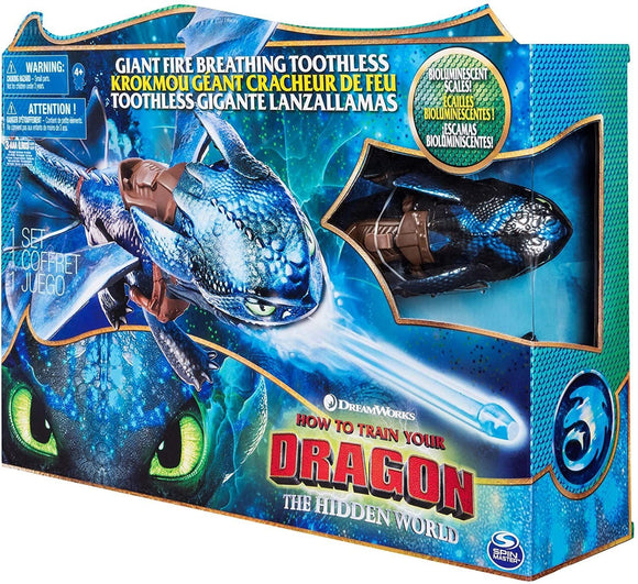 DreamWorks Dragons Fire Breathing Toothless - TOYBOX Toy Shop