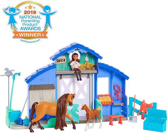 DreamWorks Spirit Riding Free Spirit & Lucky Grooming Paddock - TOYBOX Toy Shop