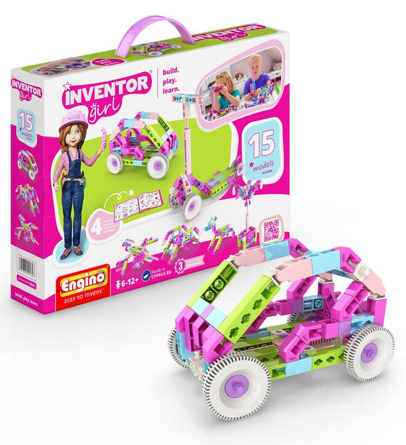 Engino Inventor Girls IG15 Construction Set Education ENGINO