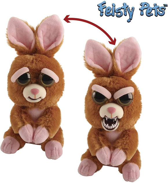 Feisty Pets Vicky Vicious Plush Stuffed Bunny - TOYBOX Toy Shop