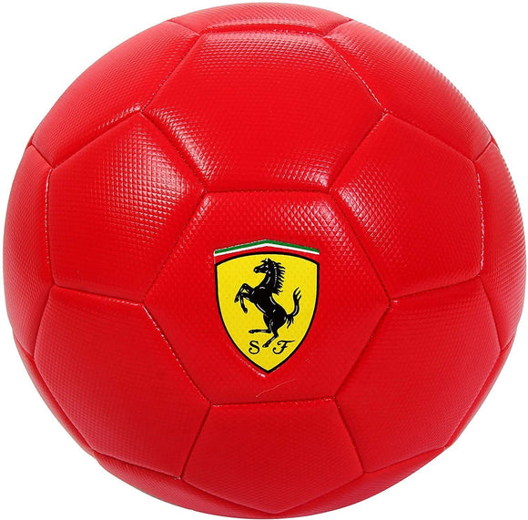 Ferrari PVC Football - Red Yellow Black White - TOYBOX Cyprus