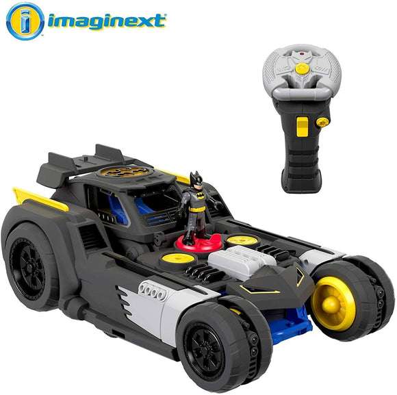 Fisher-Price Imaginext DC Super Friends Transforming Batmobile R/C Action Toy Fisher Price