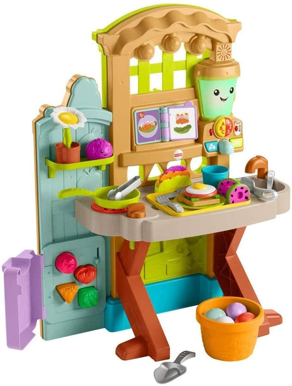 Fisher-Price Laugh and Learn Grow-the-Fun Garden to Kitchen - TOYBOX Cyprus