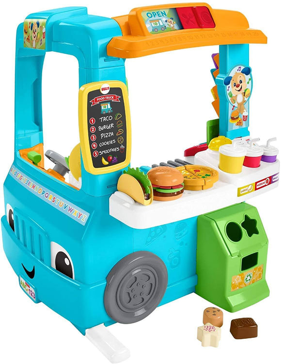 Fisher-Price Laugh and Learn Servin Up Fun Food Truck - TOYBOX Cyprus