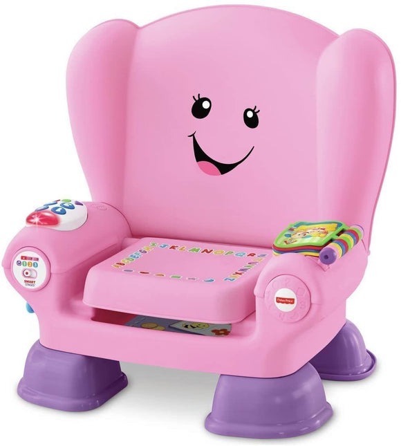 Fisher-Price Laugh & Learn Smart Stage Pink Activity Chair - TOYBOX Cyprus