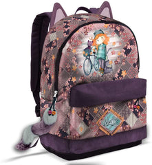 Forever Ninette Bicycle-HS FN Backpack Casual Daypack, 44 cm - TOYBOX Cyprus