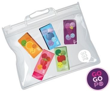 GOGOPO Scented Erasers 5 Pack Stationary GOGOPO