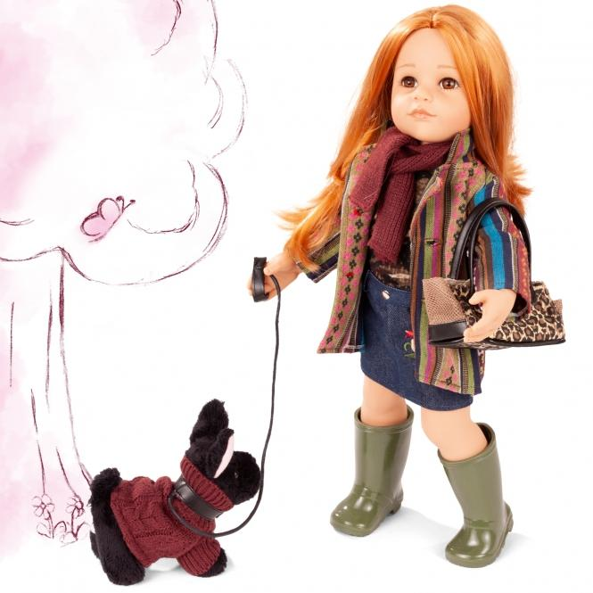 Gotz Doll Hannah 50cm and her Dog - TOYBOX Cyprus