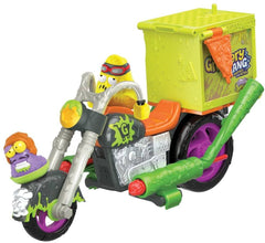 Grossery Gang GGA24000 Delivery Strike Motorbike - TOYBOX Toy Shop