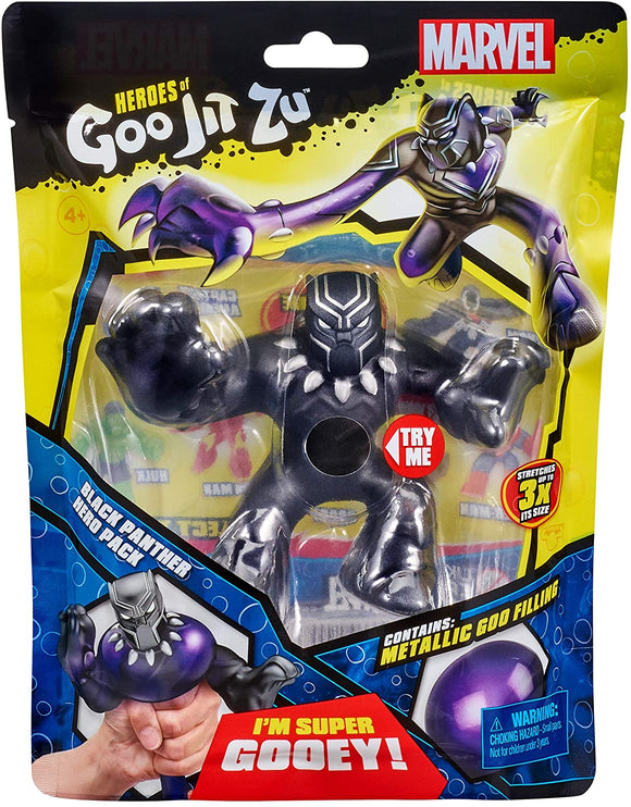 Heroes of Goo Jit Zu 41099 Marvel Superheroes-Black Panther - TOYBOX Cyprus