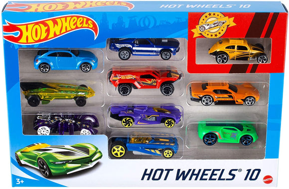 Hot Wheels 10 Diecast Car Pack Assortment - TOYBOX Cyprus