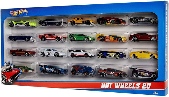 Hot Wheels 20 Diecast Mini Toy Cars Pack - TOYBOX Cyprus