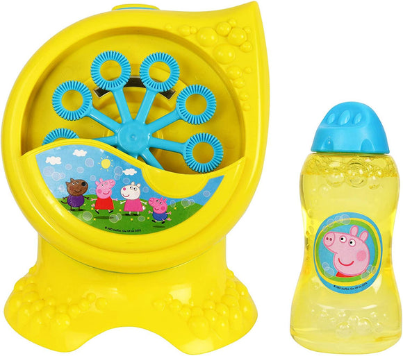 HTI Peppa Pig Bubble Machine Outdoor Peppa Pig
