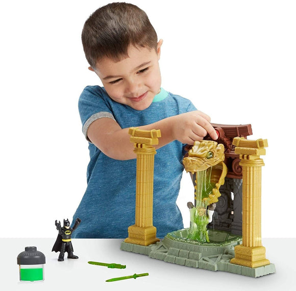 Imaginext Batman Ooze Pit with Ooze Canister and Slime Playset Fisher Price
