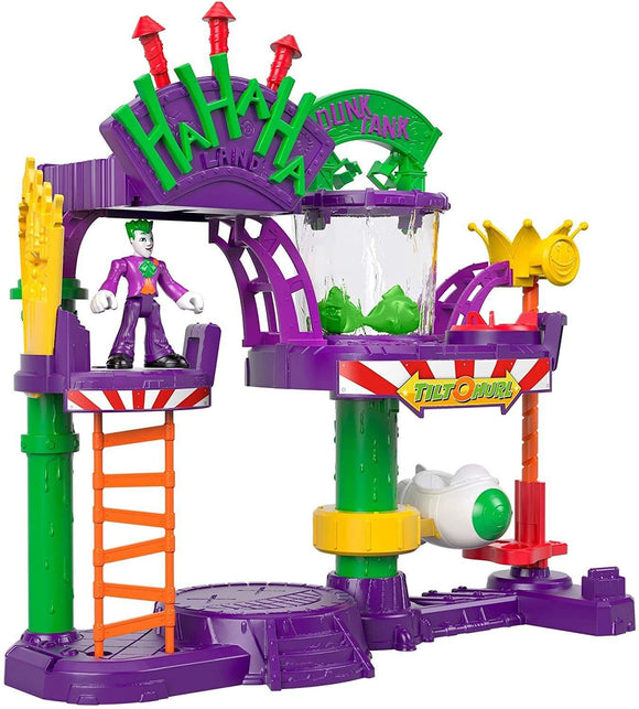 Imaginext DC Super Friends The Joker Laff Factory Playset Playset Fisher Price