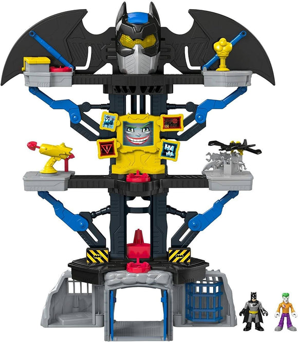 Imaginext DC Super Friends Transforming Batcave Playset Action Toy DC Super Friends