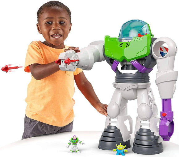 Imaginext Toy Story Buzz Lightyear Robot Playset Action Toy Toy Story