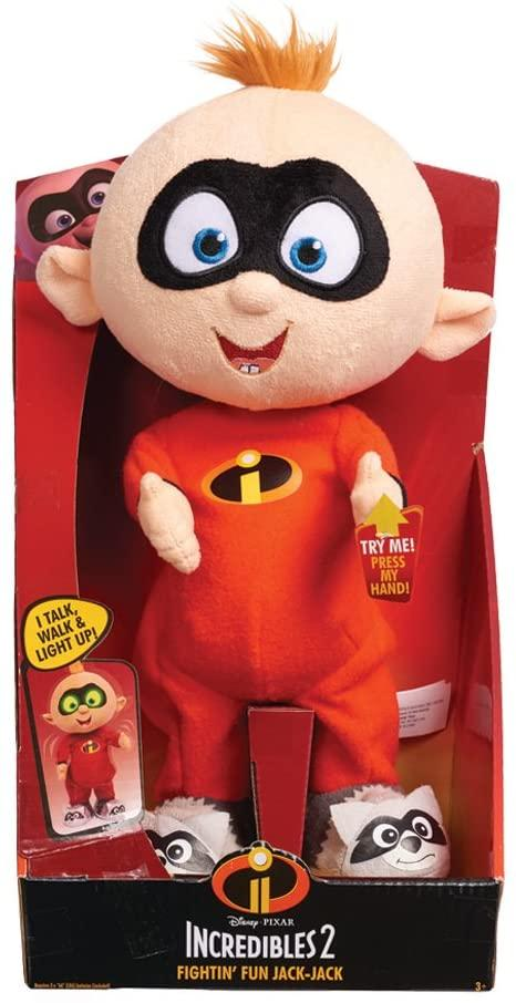 Incredibles 2 Fightin' Fun Baby Jack - Jack Feature Plush - TOYBOX Cyprus