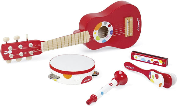 Janod Confetti Music Live Musical Set Musical Instrument Janod
