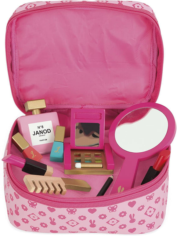 Janod JO6514 Little Miss Vanity Case, Wooden - TOYBOX Toy Shop