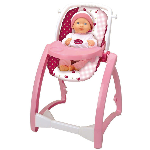 Klein 1682 Princess Coralie Doll High Chair 4 in 1 - TOYBOX Cyprus