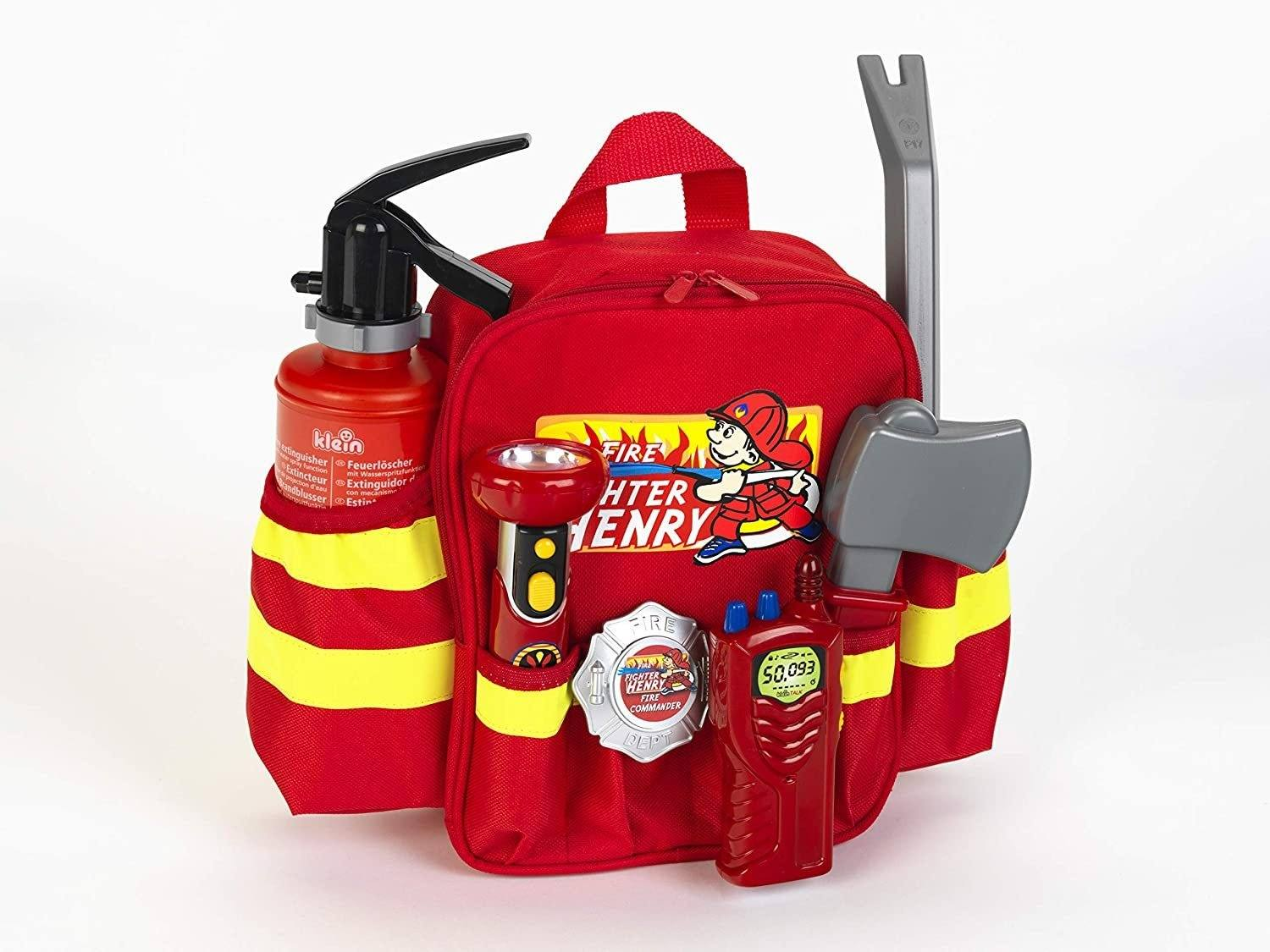 Klein 8900 Firefighter Henry Backpack - TOYBOX Toy Shop