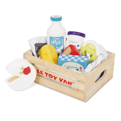 Le Toy Van Cheese & Dairy Crate - TOYBOX Cyprus