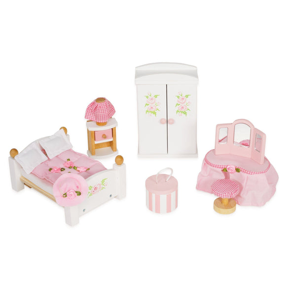 Le Toy Van Daisylane Daisylane Master Bedroom Furniture Playset Dollhouse Le Toy Van