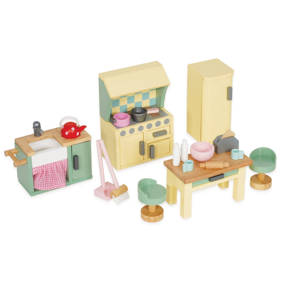 Le Toy Van Daisylane Kitchen Furniture Playset Dollhouse Le Toy Van