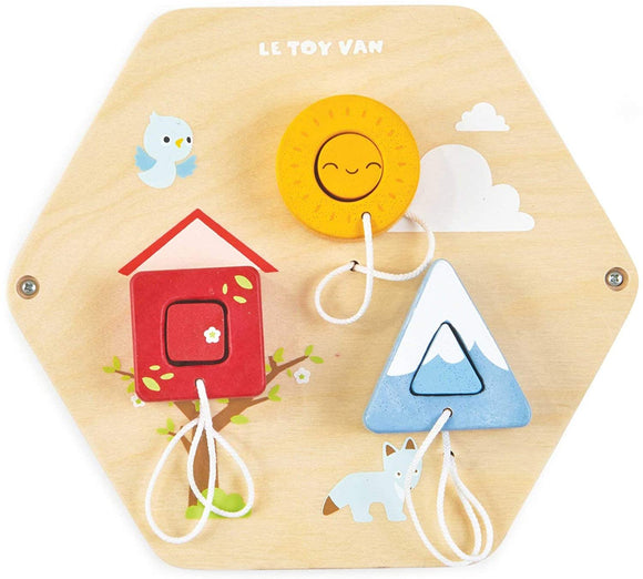 Le Toy Van Sensory Puzzle - Shapes Activity Tile Education Le Toy Van