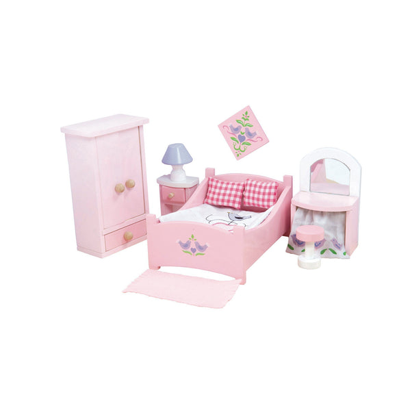 Le Toy Van SugarPlum Bedroom Furniture Playset Dollhouse Le Toy Van