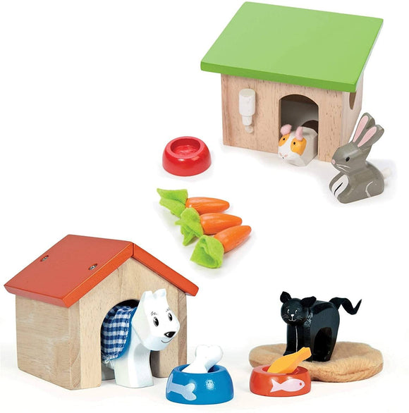Le Toy Van - Wooden Daisylane Pet Set Playset Le Toy Van