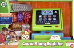 Leap Frog Count Along Till Educational Interactive Toy Shop With 20-Pieces - TOYBOX Toy Shop