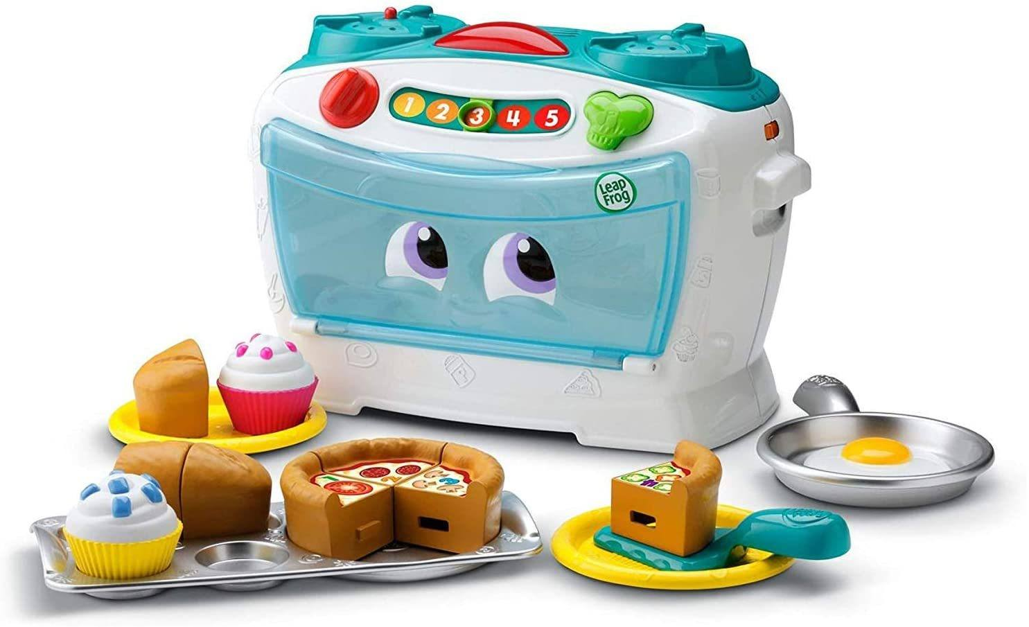 Leap Frog Number Lovin' Oven, Teal, Great Gift For Kids, Toddlers, Toy for Boys and Girls, Ages 2, 3, 4, 5 - TOYBOX Toy Shop