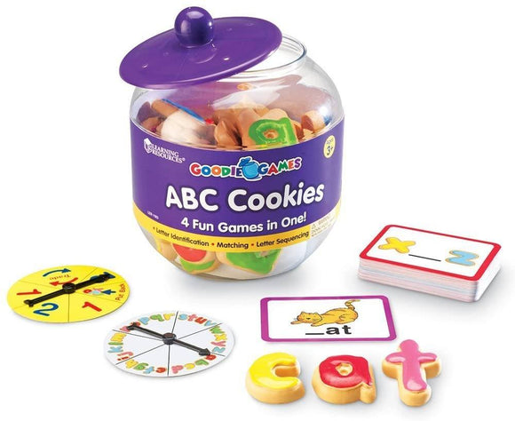 Learning Resources 1183 Goodie Games ABC Cookies - TOYBOX Cyprus