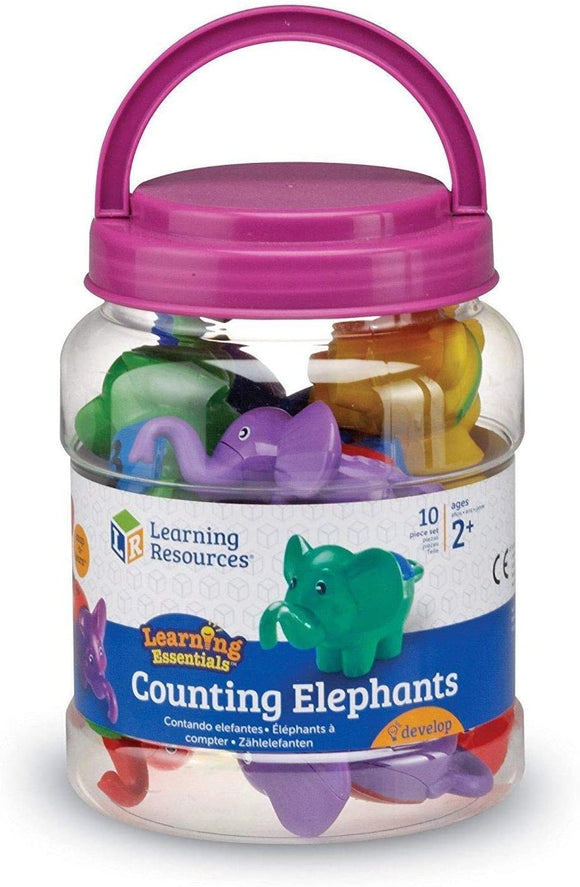 Learning Resources 6703 Snap-n-Learn™ Counting Elephants - TOYBOX Cyprus