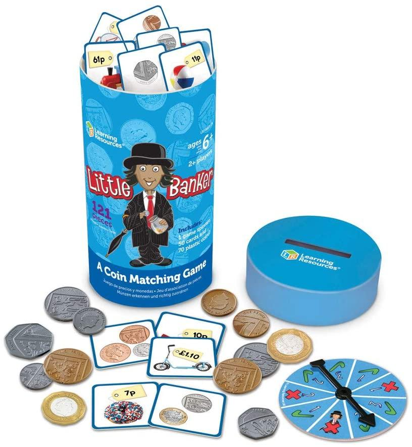 Learning Resources Little Banker Coin Matching Game - TOYBOX Cyprus
