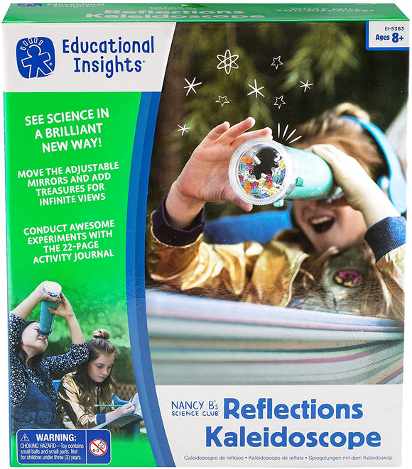 Learning Resources Nancy B's Science Club Reflections Kaleidoscope - TOYBOX Cyprus