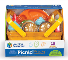 Learning Resources New Sprouts Picnic! 15 Pieces Baby Toys Learning Resources