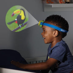 Learning Resources Primary Science Headlamp Projector with Adjustable Strap & Animal Discs Education Learning Resources