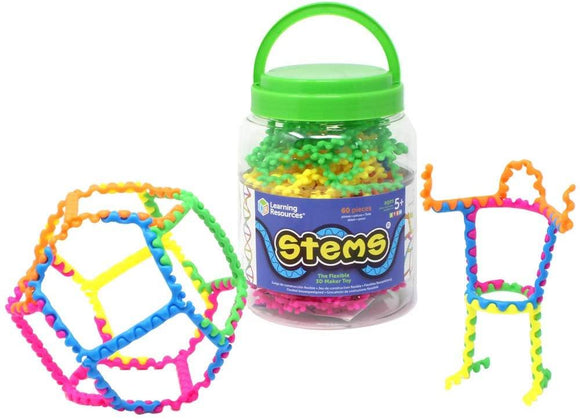 Learning Resources Stems 60 Pieces - TOYBOX Cyprus