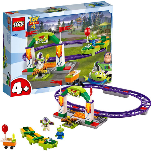 LEGO 10771 Toy Story 4 Carnival Thrill Coaster with Buzz Lightyear - TOYBOX Toy Shop