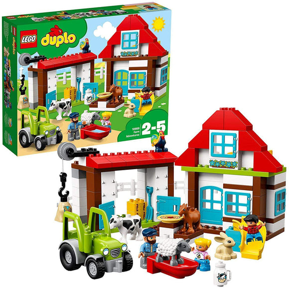 LEGO 10869 DUPLO Town Farm Adventures Building Set Building Blocks LEGO