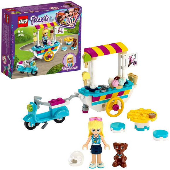 LEGO 41389 Friends Ice Cream Cart Playset with Stephanie - TOYBOX Toy Shop
